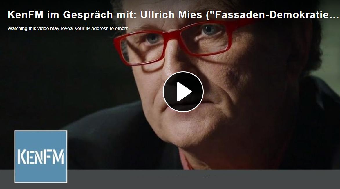 """Video Interview """"Fassaden-Demokratie und Tiefer Staat"""""""