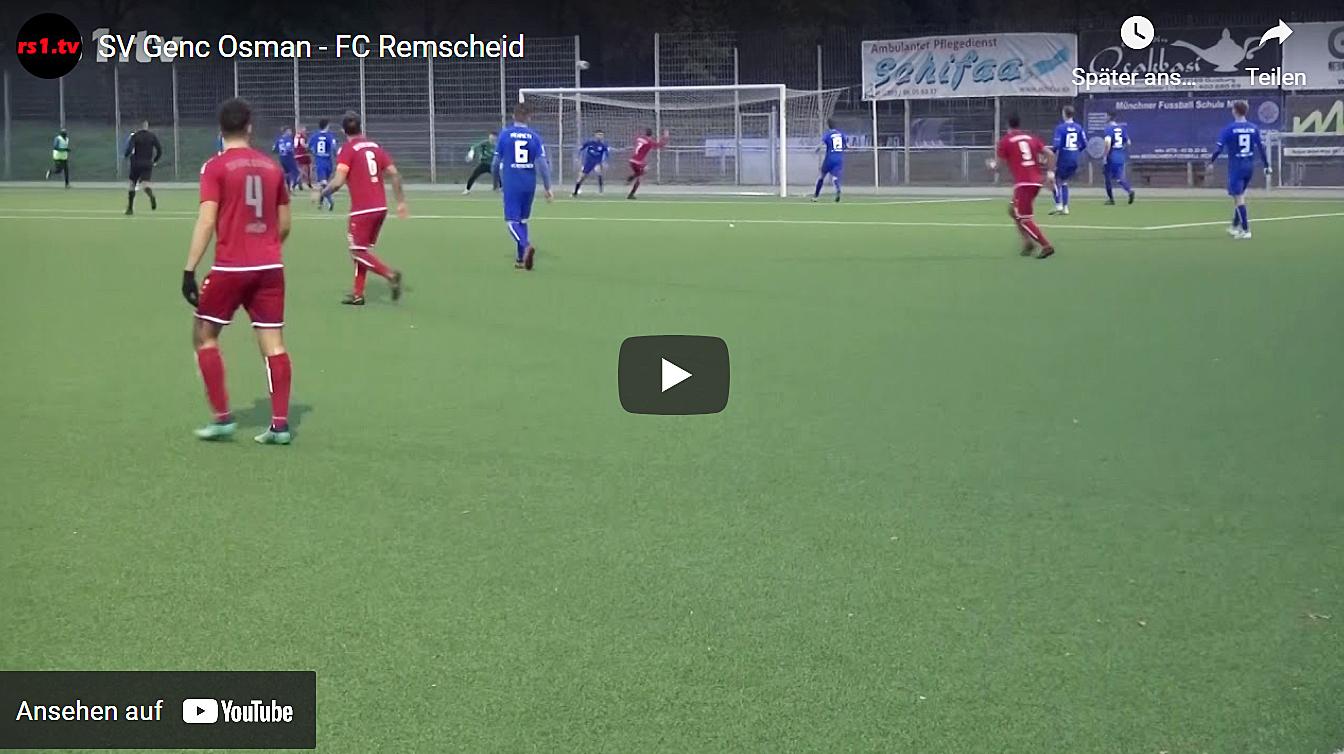 Foto vom Spiel Genc Osman - FC Remscheid