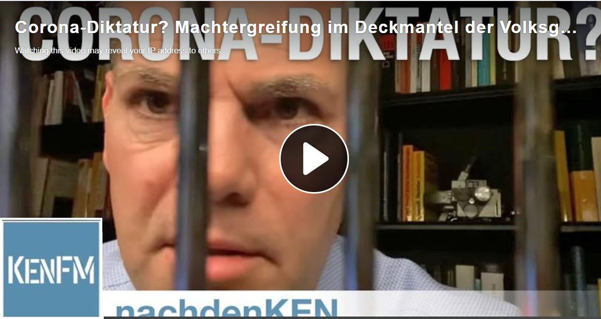 Journalist Ken Jebsen hinter Gittern