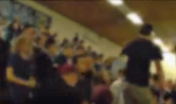 Foto MSV-Fans beim Hallenfußball