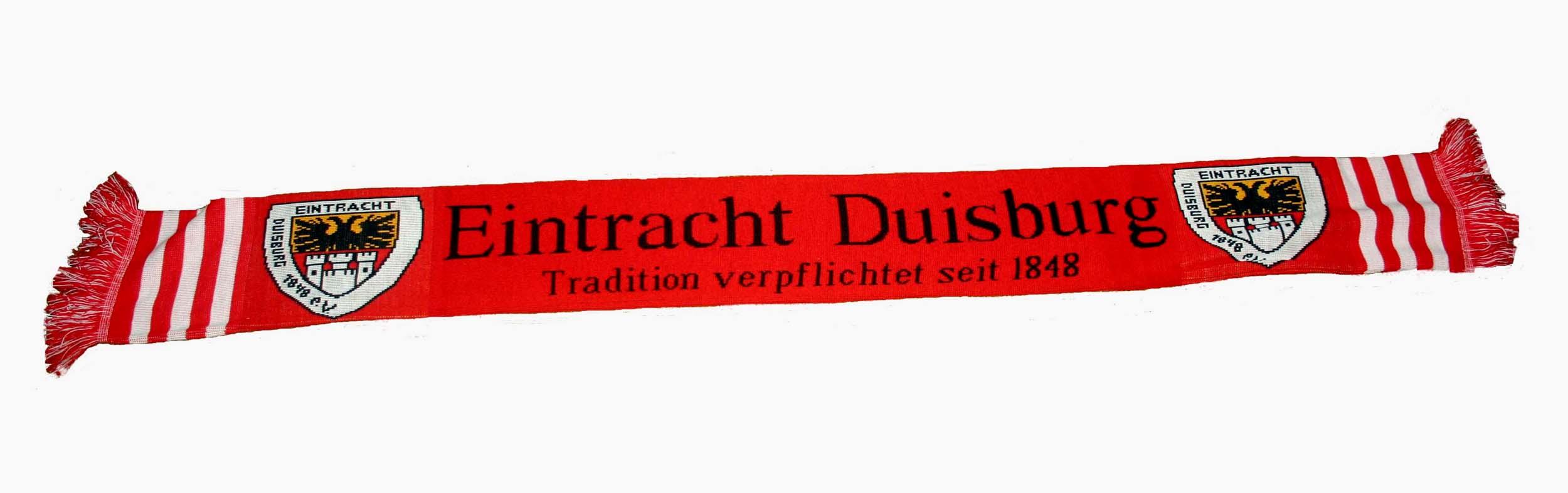 Fanschal von Eintracht Duisburg
