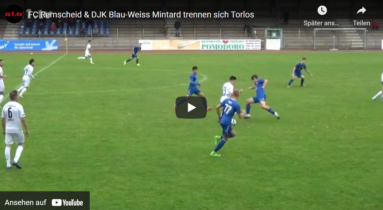 Video FC Remscheid - BW Mintard
