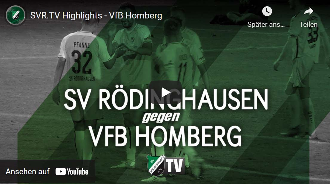 Zum Video Roedinghausen-VfB Homberg