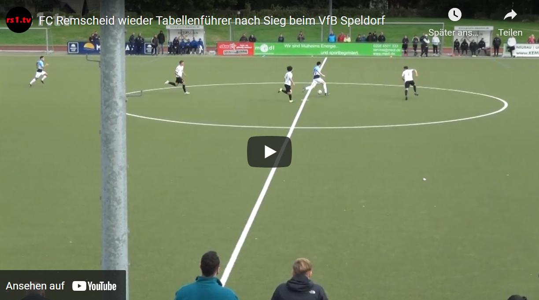 Video VfB Speldorf - FC Remscheid